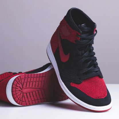 Picture of Jordan 1 Bred Flyknit